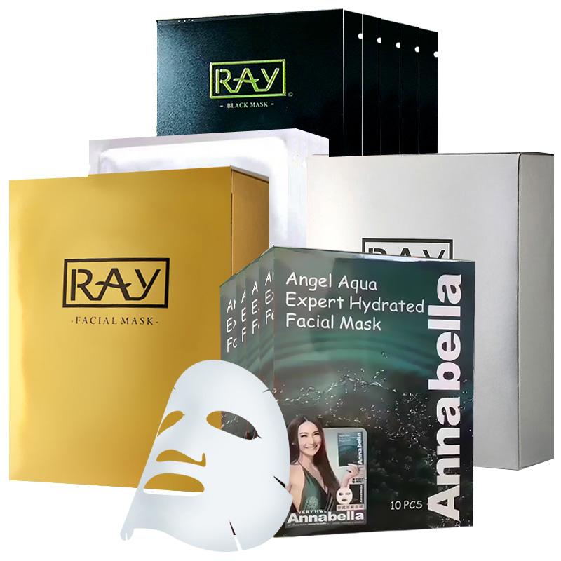RAY芮一/妝蕾版金銀黑面膜、海藻面膜